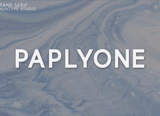 Paplyone Font