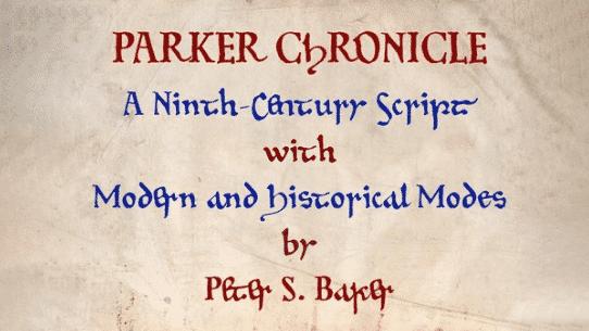 Parker Chronicle Font