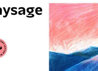 Paysage family Font