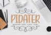 Pidater Font