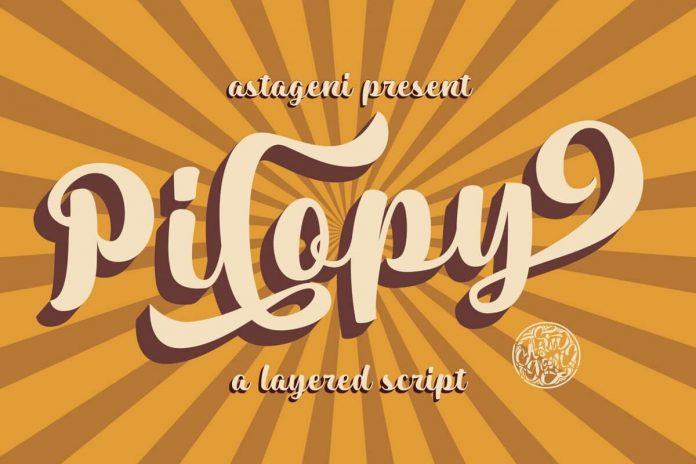 Pilopy Font