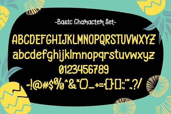 Pineapple Grass Font