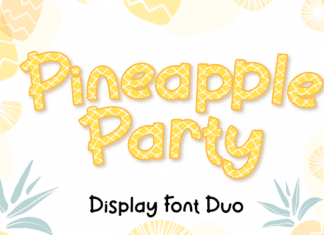 Pineapple Party Font