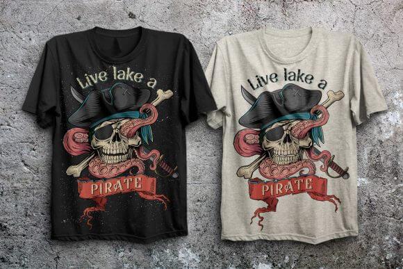 Pirates Rum Font
