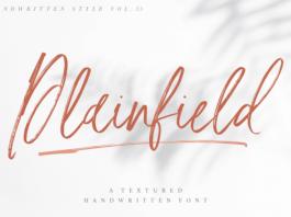 Plainfield Font