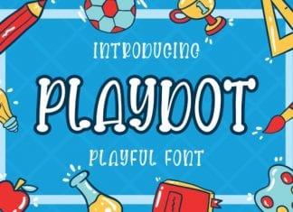 Playdot Playful Font