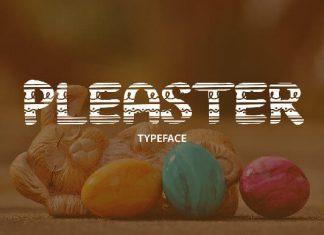 Pleaster Font