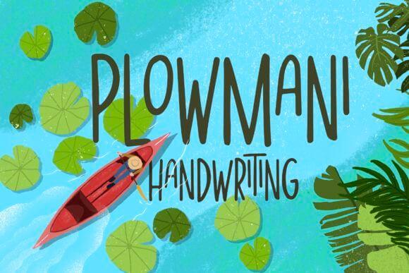 Plowmani Font