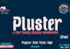 Pluster Font