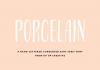 Porcelain Condensed Sans Serif