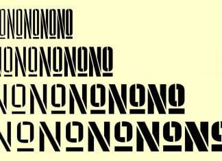 Pressio Stencil typeface Font