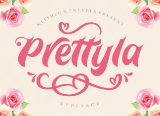 Prettyla Font
