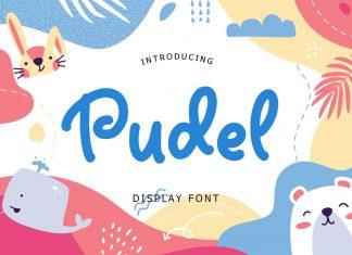 Pudel Display Font