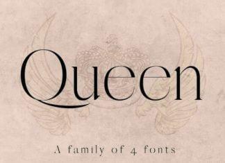 QUEEN: An Elegant Serif Font