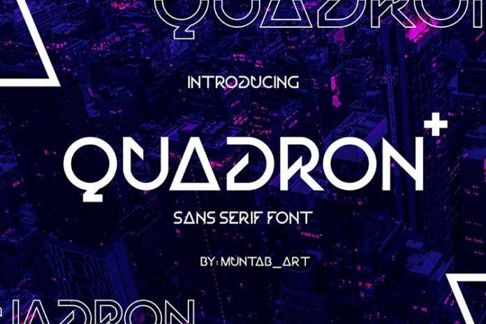 Quadron Future Font