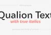 Qualion Text Font