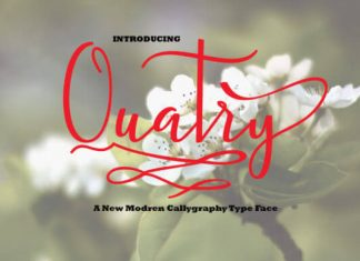 Quatry Font