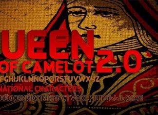Queen of Camelot 2.0 Cyrillic Font