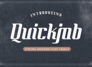 Quickjob Font Family