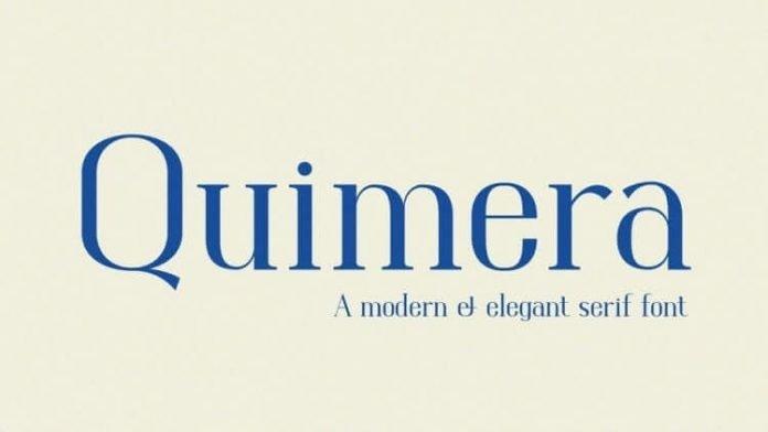 Quimera - Modern & Elegant Serif Font