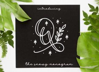 Quinn Monogram Font