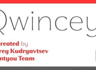 Qwincey FY Font