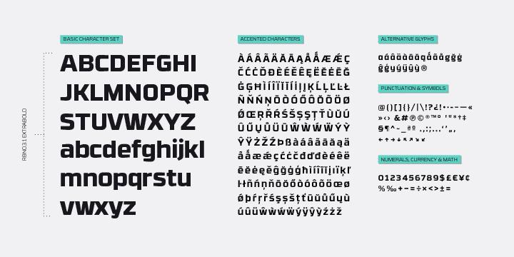 RBNo3.1-Font