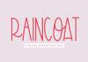 Raincoat Font