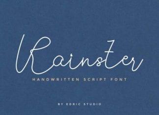 Rainster Font