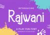 Rajwani Font