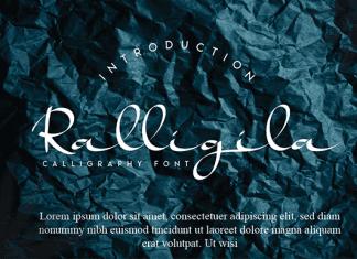 Ralligila Font