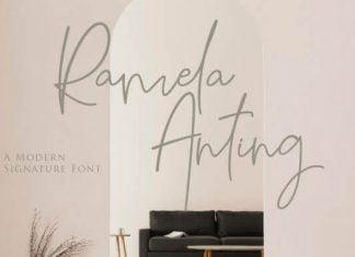 Ramela Anting Font