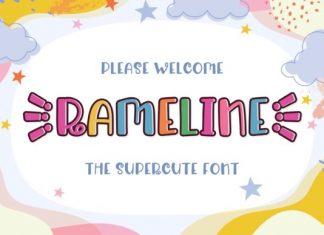 Rameline Font