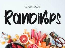 Randirops Handwritten Font