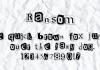 Ransom Font