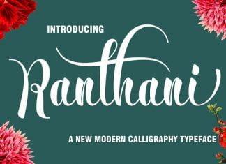 Ranthani Font
