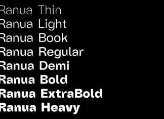 Ranua Typeface Font