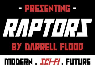 Raptors Font