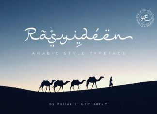 Rasyideen Font