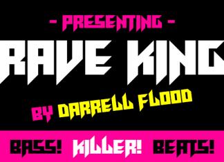 Rave King Font