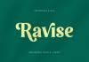 Ravise Font