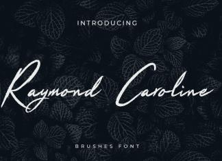 Raymond Caroline Brush Handwritten Font