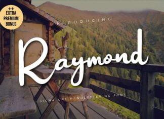 Raymond Script Font