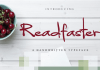 Readfaster Font