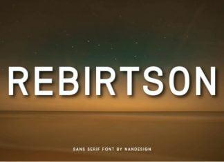 Rebirtson Font
