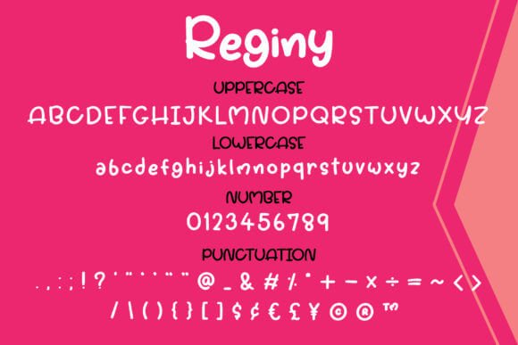 Reginy Font