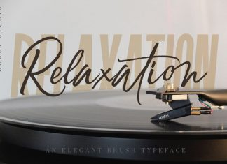 Relaxation Font