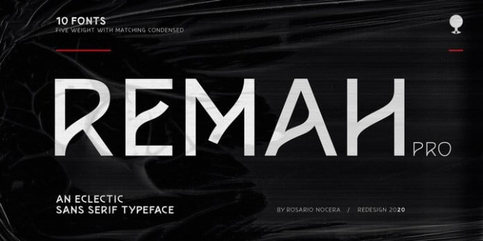 Remah pro Font Family