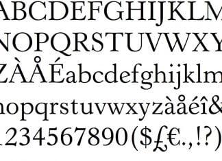 Revival 555 Font