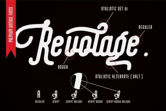 Revolage Font